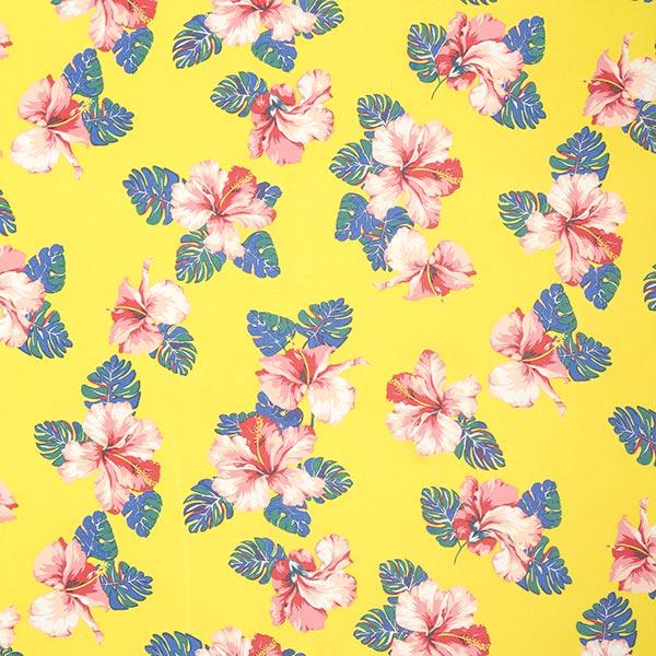 Chiffon Hibiskusblüten – gelb