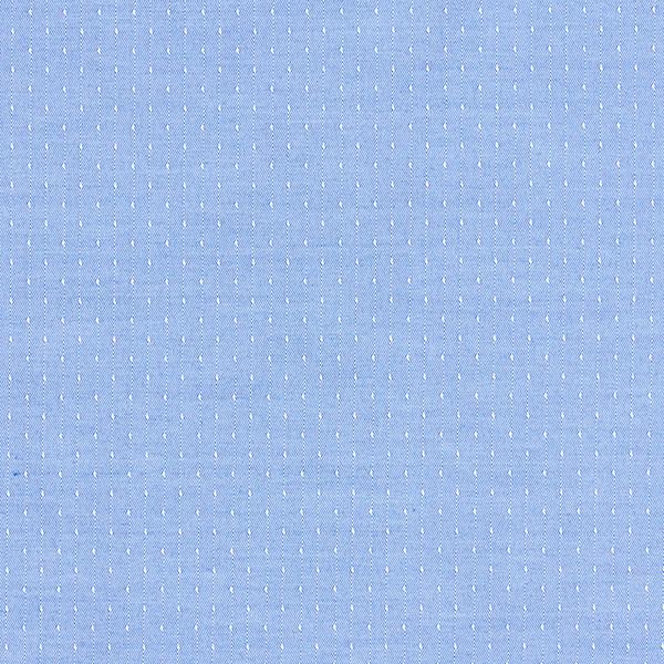Doublure mélange coton Points – bleu bébé
