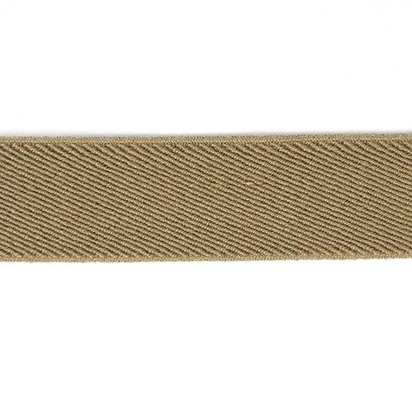 Ruban élastique Basique - beige foncé