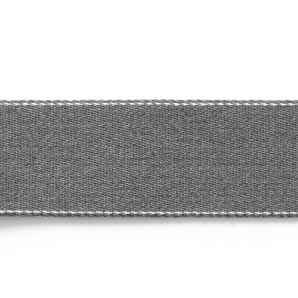 Taschengurtband recycelt - grau