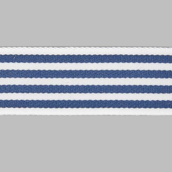 Sangle de sac Rayures - blanc / bleu marine