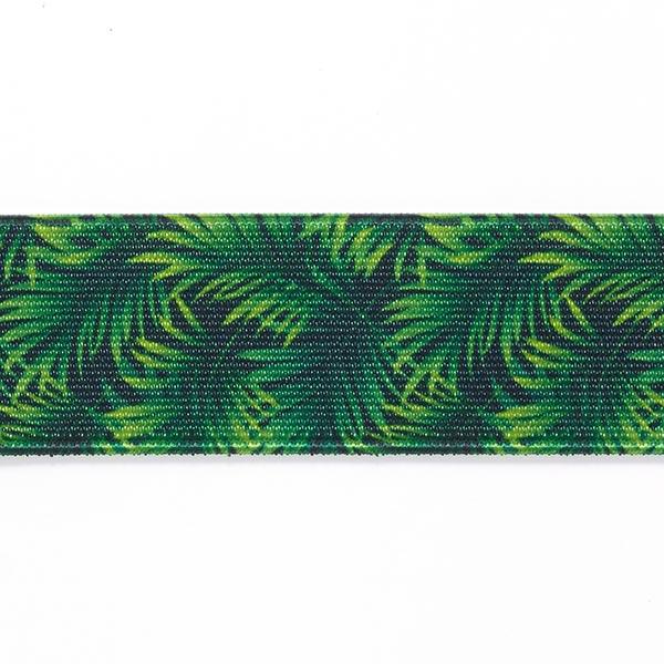 Sangle Jungle  [ 3,5 cm ] – vert herbe/noir