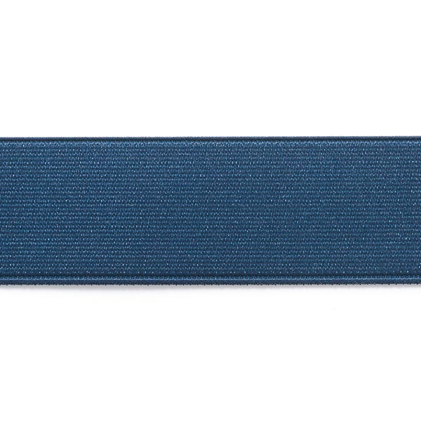Ceinture élastique brillante - bleu marine