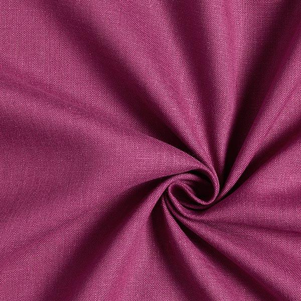 Tissu en lin – lilas rouge