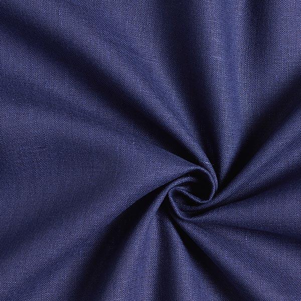 Leinenstoff Uni – marineblau