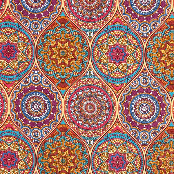 Dekostoff Canvas Mandala