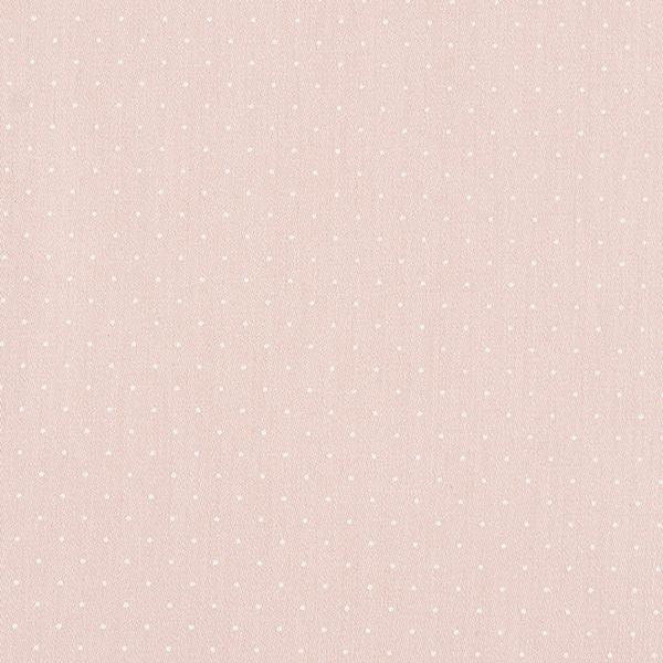 Satin de coton Petits points – beige clair