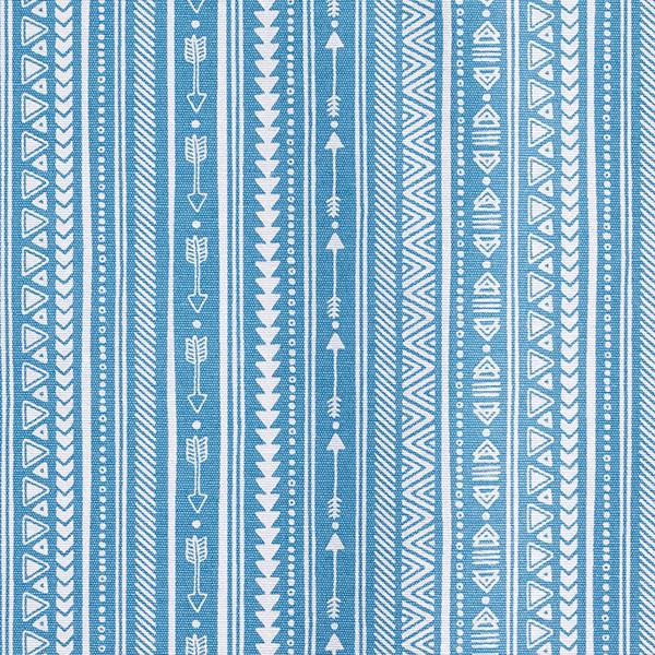 Dekostoff Beschichtet Ethno – blau