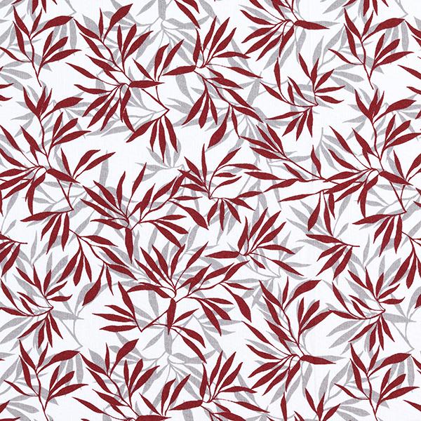 Tissu en coton Cretonne Bambou – rouge