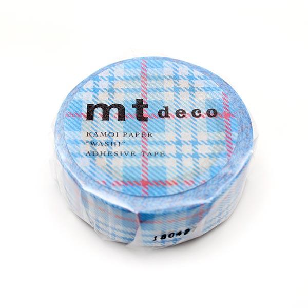 Masking Tape Carreaux – bleu clair