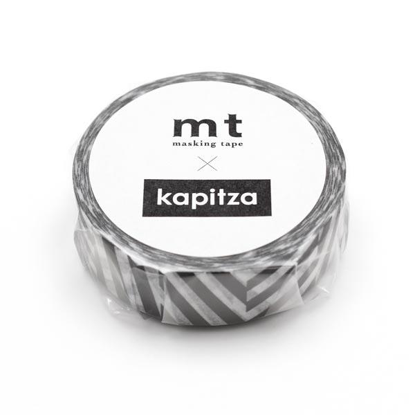 Washi Tape Streifenmuster – schwarz/weiss   Masking Tape
