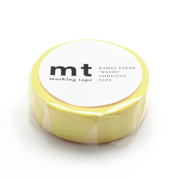 Masking Tape Uni – jaune soleil