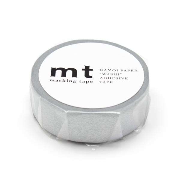 Masking Tape Uni – argent