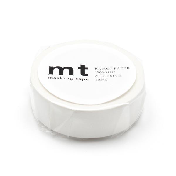 Washi Tape Matt – weiss | Masking Tape