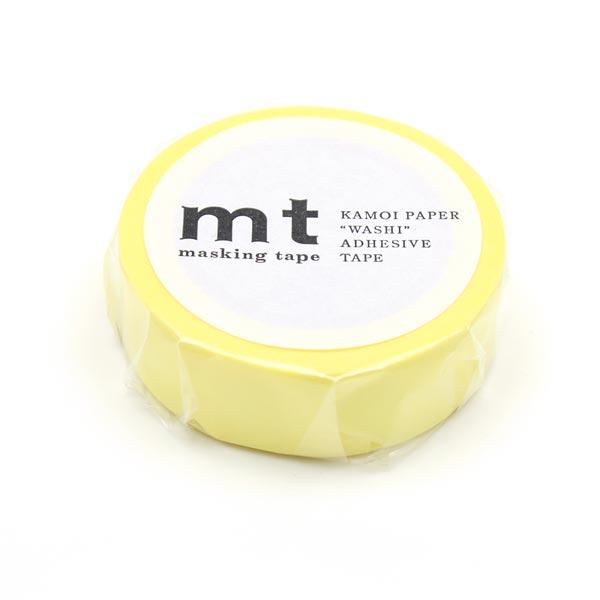 Masking Tape Pastel – jaune