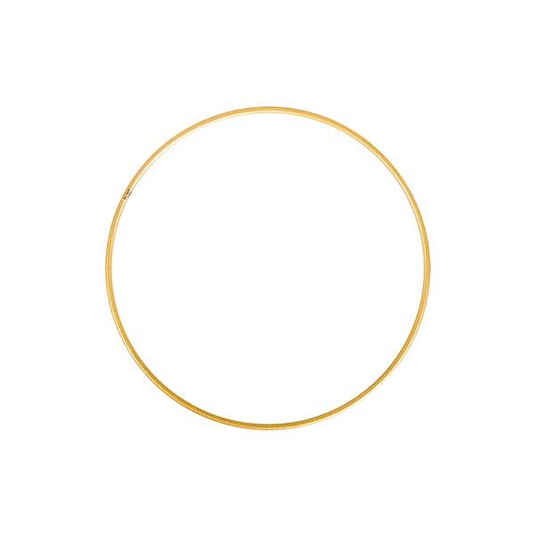 Metallring [ 15 cm ] | Rayher – gold
