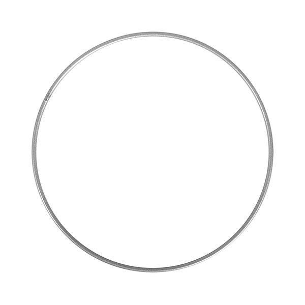 Anneau métallique [ 20 cm ] | Rayher – argent