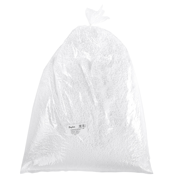 Billes de polystyrène [ 3 mm | 300 g] – blanc