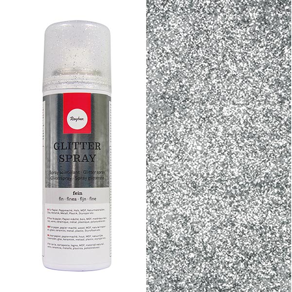 Spray scintillant [125 ml] – argent