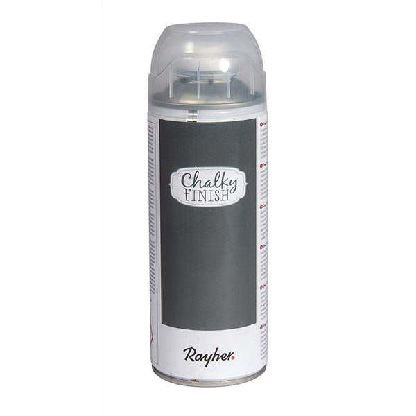Chalky Finish Spray [ 400 ml ] | Rayher – anthracite