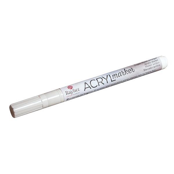 Marqueur acrylique [ 1-2 mm ] – blanc