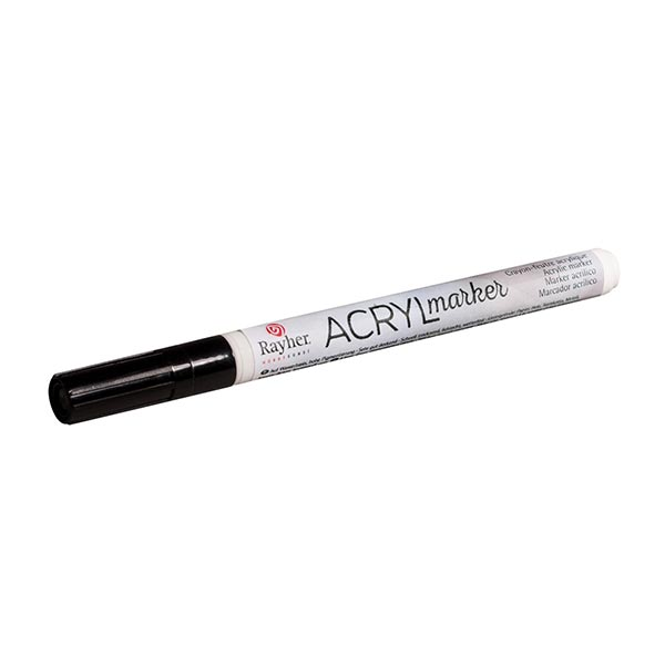 Marqueur acrylique [ 1-2 mm ] – noir