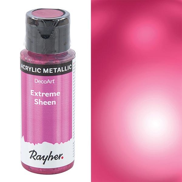 Acrylfarbe Extreme Sheen Metallic [ 59 ml ] | Rayher – pink