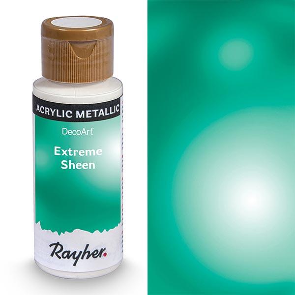Peinture acrylique Extreme Sheen Métallisé | Rayher – turquoise