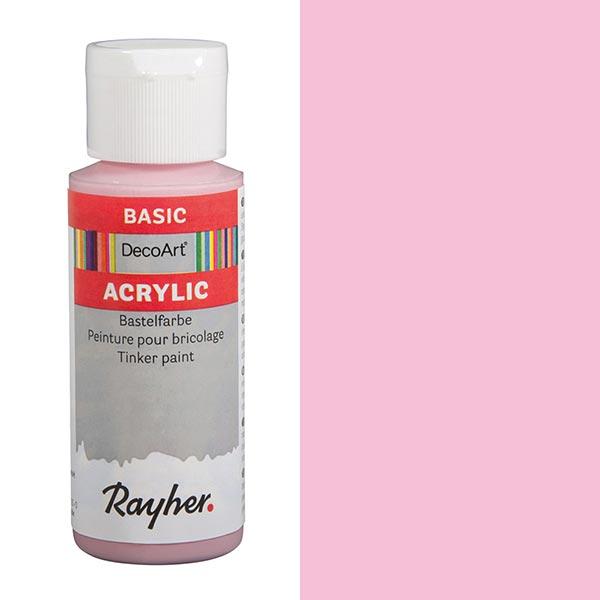 Acrylic-Bastelfarbe [ 59 ml ] – rosa