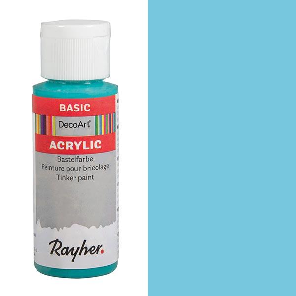 Peinture de bricolage acrylique [ 59 ml ] – turquoise