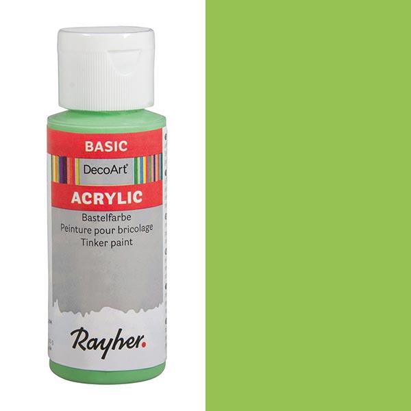 Peinture de bricolage acrylique [ 59 ml ] – vert tendre
