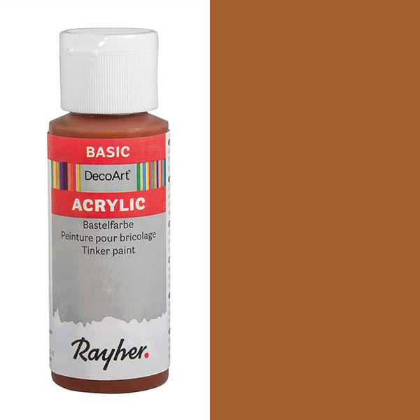 Acrylic-Bastelfarbe [ 59 ml ] – schokolade