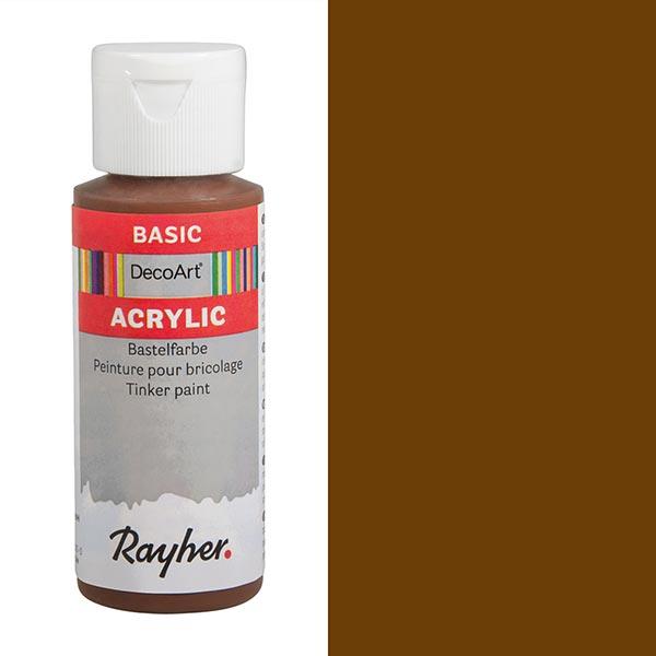 Acrylic-Bastelfarbe [ 59 ml ] – maronenbraun