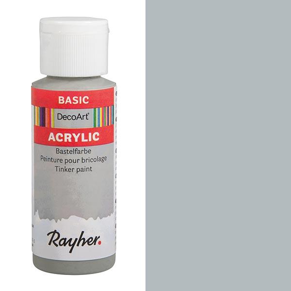 Acrylic-Bastelfarbe [ 59 ml ] – hellgrau