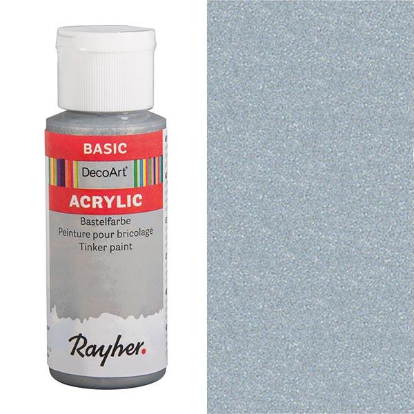 Peinture de bricolage acrylique [ 59 ml ] – argent