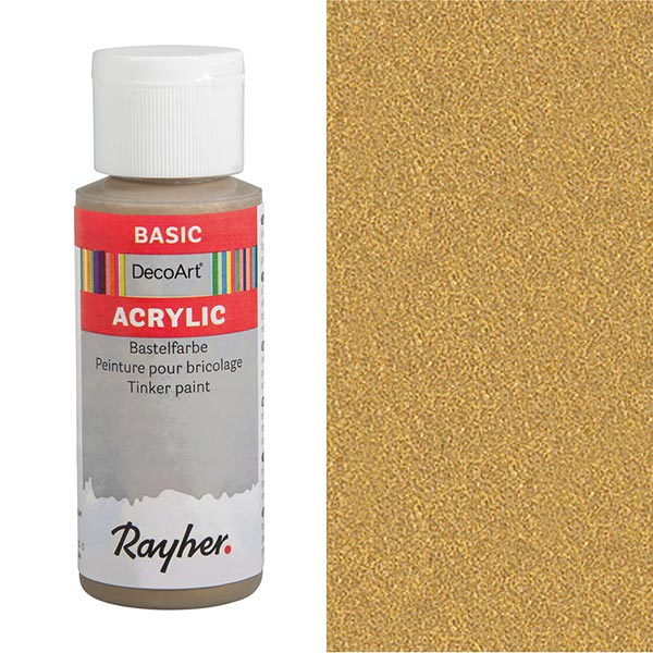 Acrylic-Bastelfarbe [ 59 ml ] – gold
