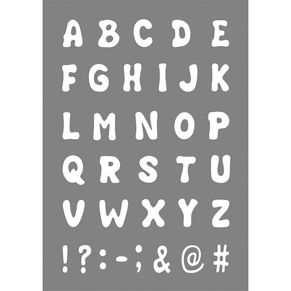 Schablone ABC [A4] | Rayher