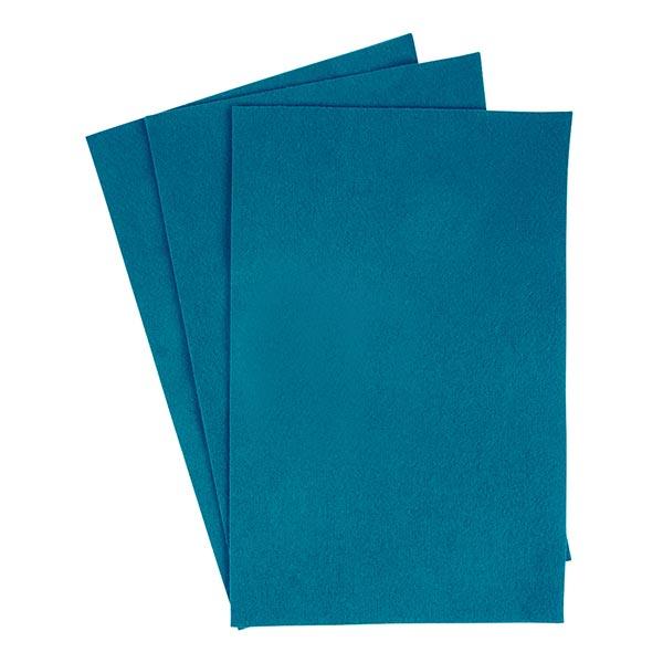 Découpes de feutre [20 x 30 cm] – turquoise