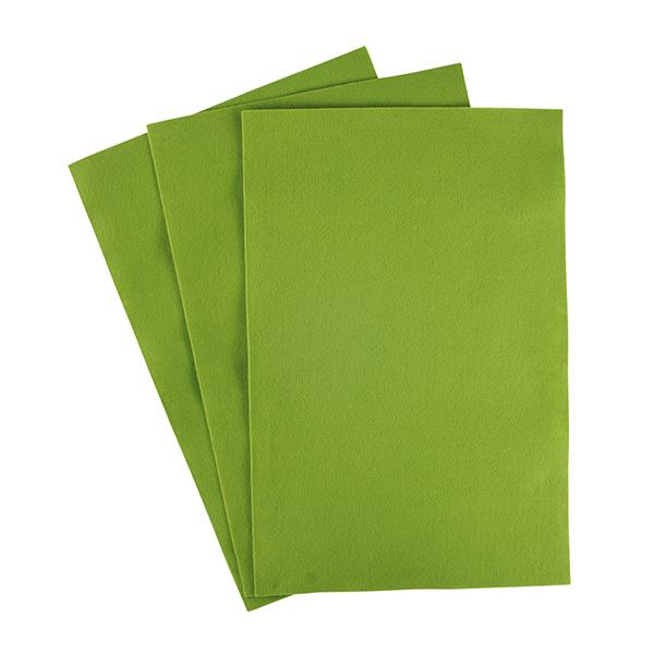 Filzzuschnitte [20 x 30 cm] – hellgrün