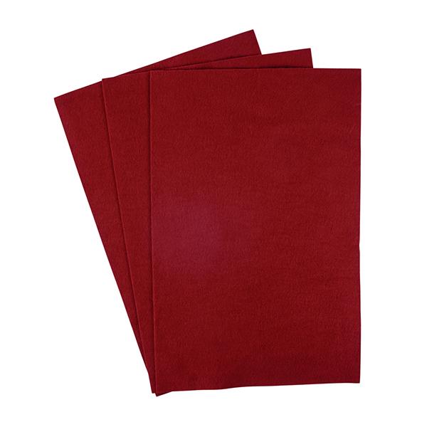 Filzzuschnitte [20 x 30 cm] – rot