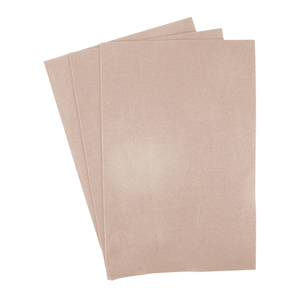 Filzplatte [20 x 30 cm] – karamell