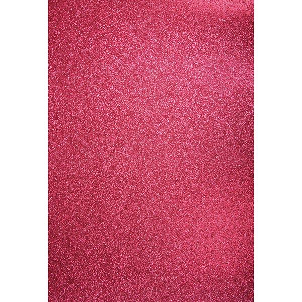 Carton de bricolage Paillettes A4 – rose vif