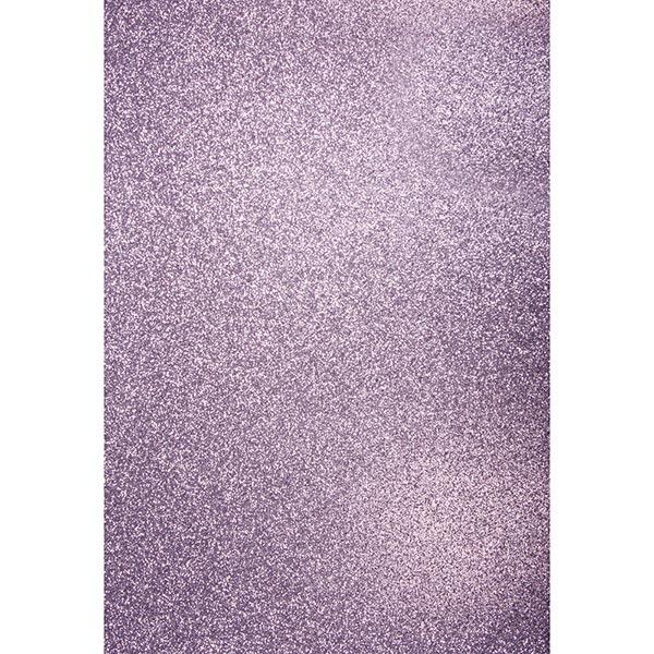 Carton de bricolage Paillettes A4 – lavande