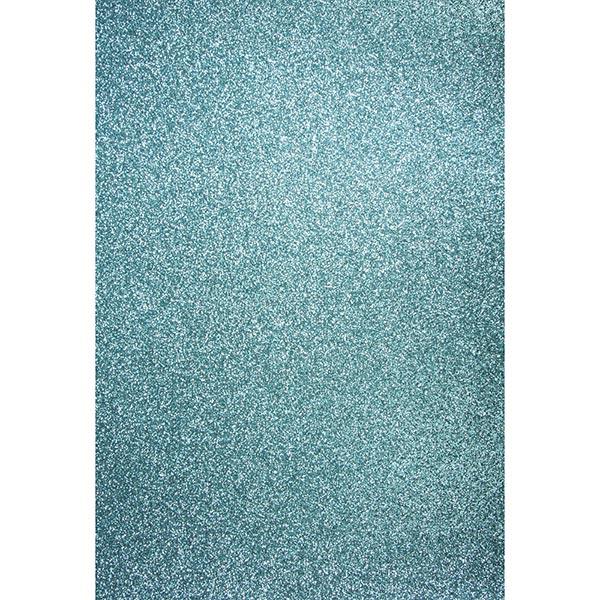Carton de bricolage Paillettes A4 – bleu pigeon
