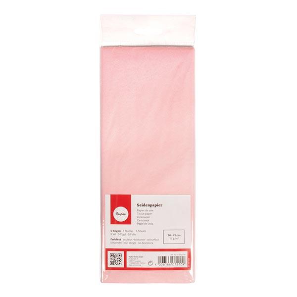 Papier de soie Set [ 5 Pièces] – rose