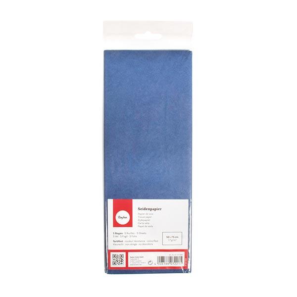 Papier de soie Set [ 5 Pièces] – bleu