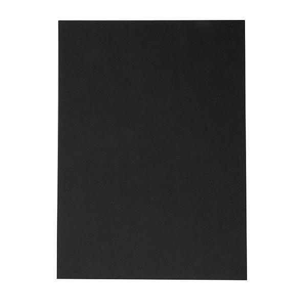 Tonkarton DIN A4 [ 50 Blatt ] | Rayher – schwarz