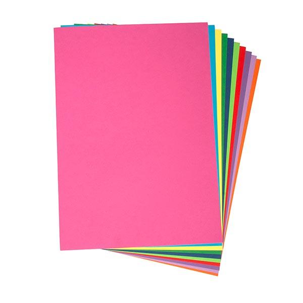 Bastelkarton DIN A4 Set [ 100 Blatt ] | Rayher