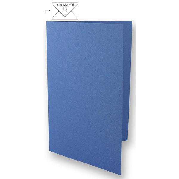 Carte B6 – bleu roi