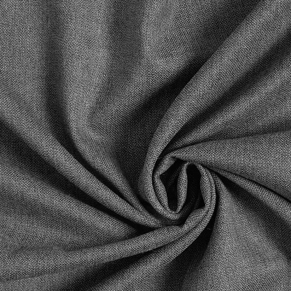 Tissu pour costume Mélange laine vierge Stretch Poivre & sel – gris
